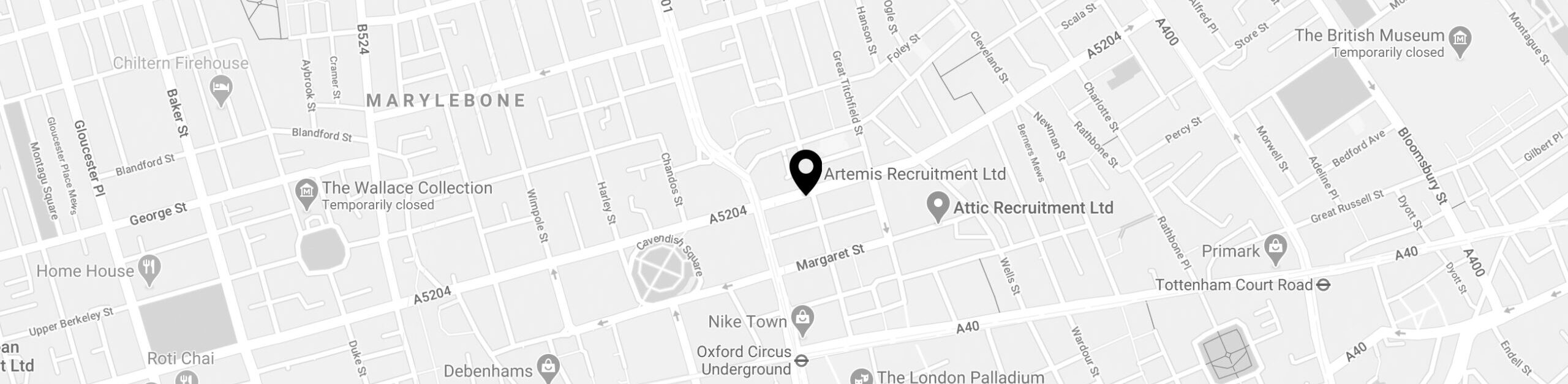 Artemis Recruitment On The Map
